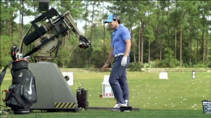 Rory McIlroy has beaten just about every human on the planet so for the latest European Tour challenge he's up against a robot. Or a Golf Laboratory Computer Controlled Hitting Machine to be precise.
