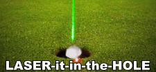 Laser Putt putting aid